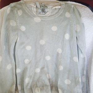 Women's Lauren Conrad light gray XL Sweater